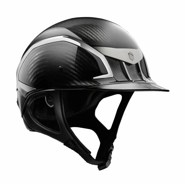 SAMSHIELD 障礙用騎士帽 (亮黑/L/贈背袋) 不含帽襯,需另外加購