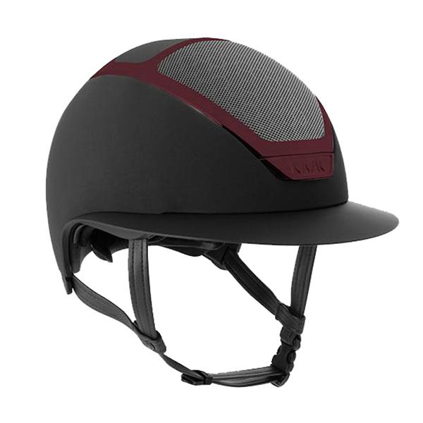 KASK 透氣騎士帽 (黑色/酒紅漆面框/M/57/58/59)