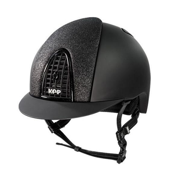 KEP 透氣騎士帽 (平光黑)