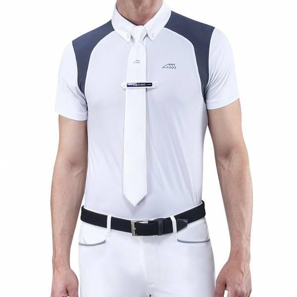 EQUILINE 男用比賽衫 (S/白色)