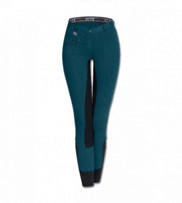 ELT 孩童馬褲 (全皮/彈性縮口/綠色)