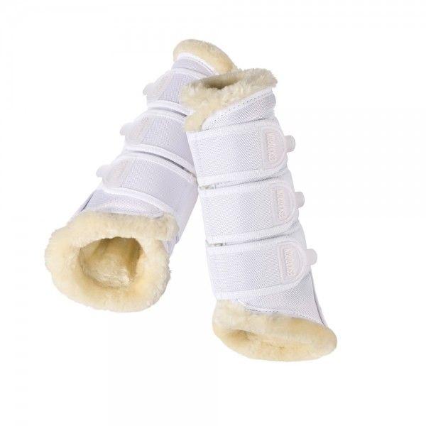 ESKADRON 馬場馬術護具 (仿羊毛內襯/白色/L)