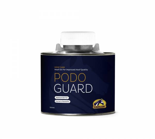 CAVALOR 修護蹄油 (液狀/附刷子/500ml) PODO GUARD, CAVALOR, 蹄油