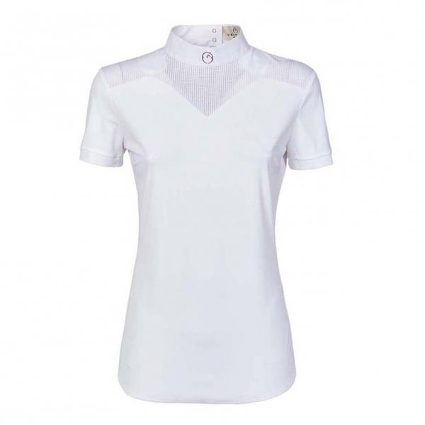 VESTRUM 女用比賽衫 (白色/XS/L)
