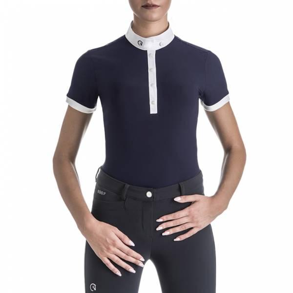 EGO7 女用比賽衫 (藍色/34)