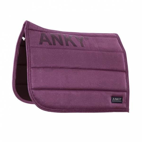 ANKY 馬場馬術汗墊 (深紫色)