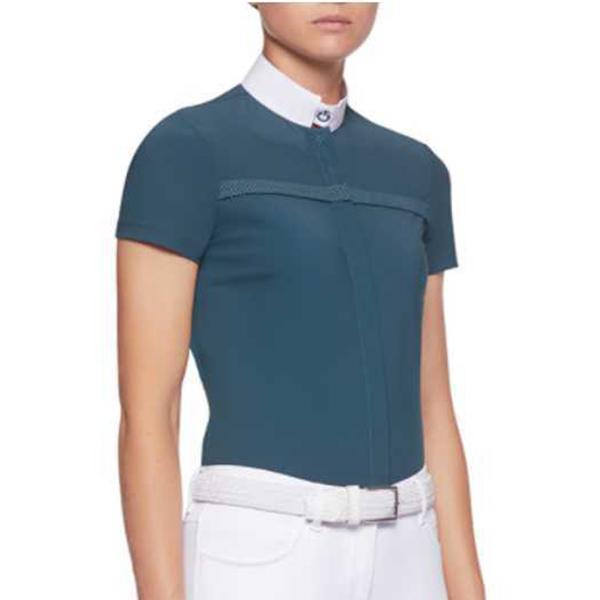 CAVALLERIA TOSCANA 女用比賽衫 (鉻綠色/M/L)