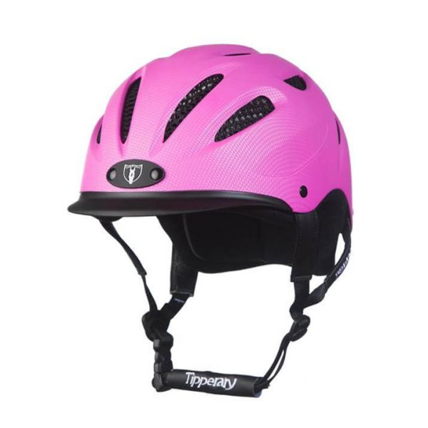 Tipperary 透氣騎士帽 (粉紅色/XS)