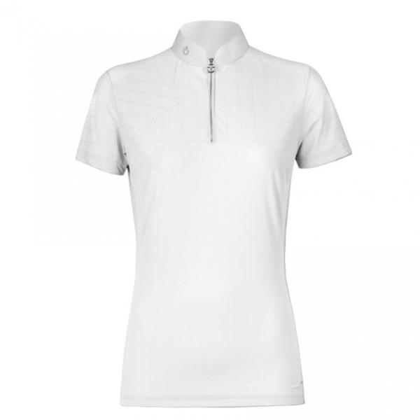 CAVALLERIA TOSCANA 女用比賽衫 (白色)