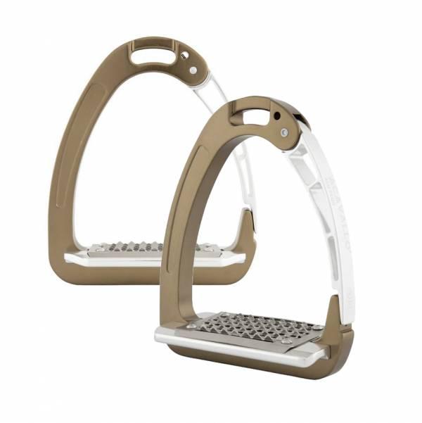 ACAVALLO 鋁製安全型腳鐙 (古銅色)