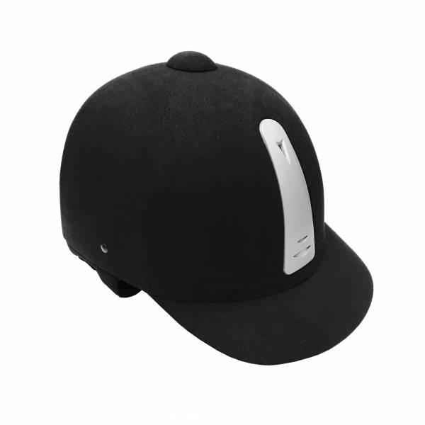 Equitec 透氣騎士帽 (黑色/53-61cm)