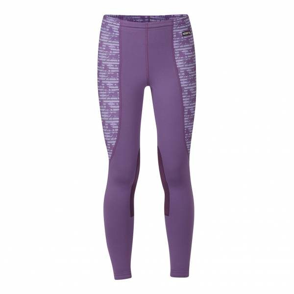 KERRITS 童用馬褲 (半皮/彈性縮口/條紋馬圖樣/紫色/XS/S)