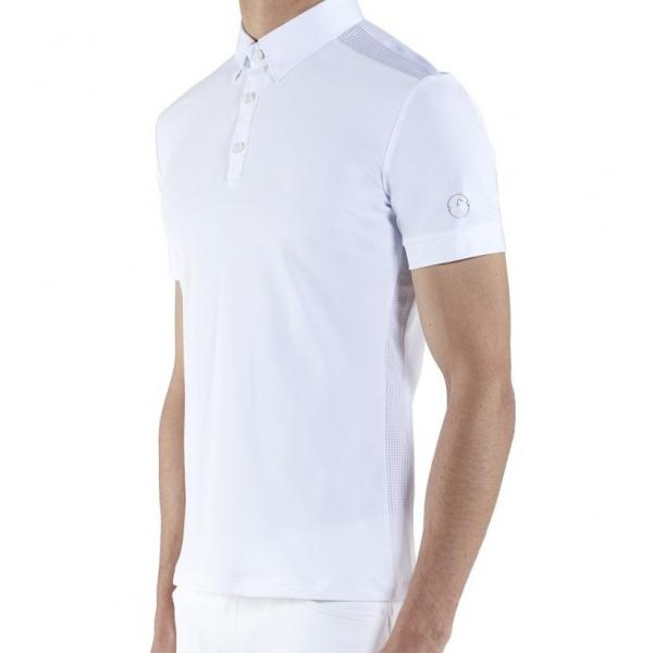 VESTRUM 男用比賽衫 (白色/S/M)