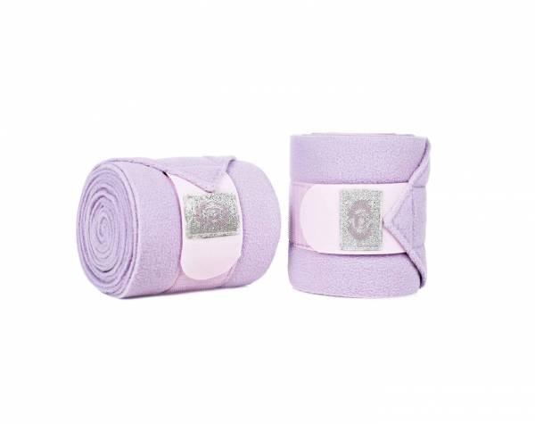 綁腿繃帶 (一組4入/粉紫色)