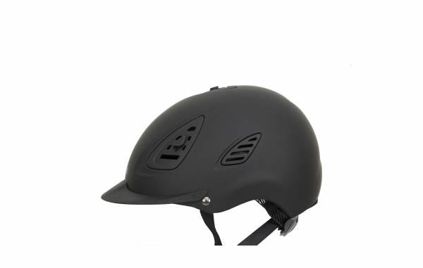 透氣騎士帽 (調整式/帽襯可拆/黑色)