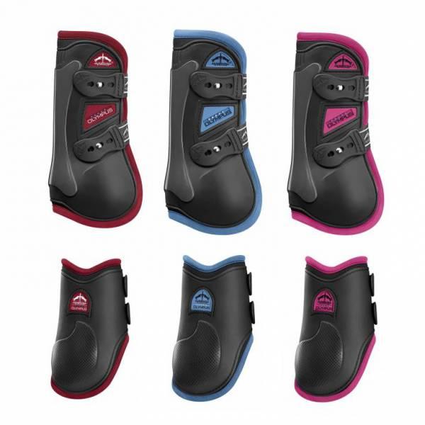 VEREDUS 雙重密度障礙護具 (雙色款/前後腿/3色可選)