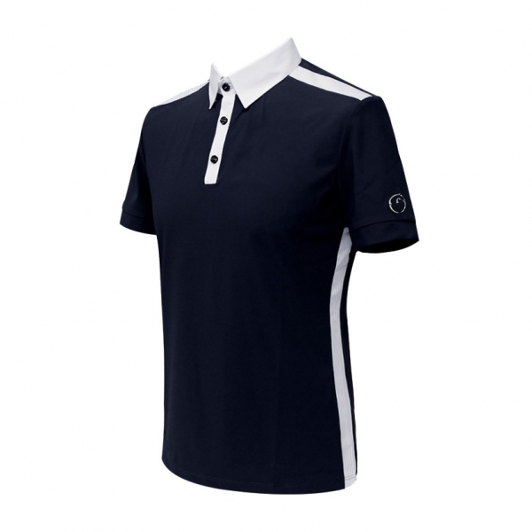 VESTRUM 男用比賽衫 (深藍色/S/L)
