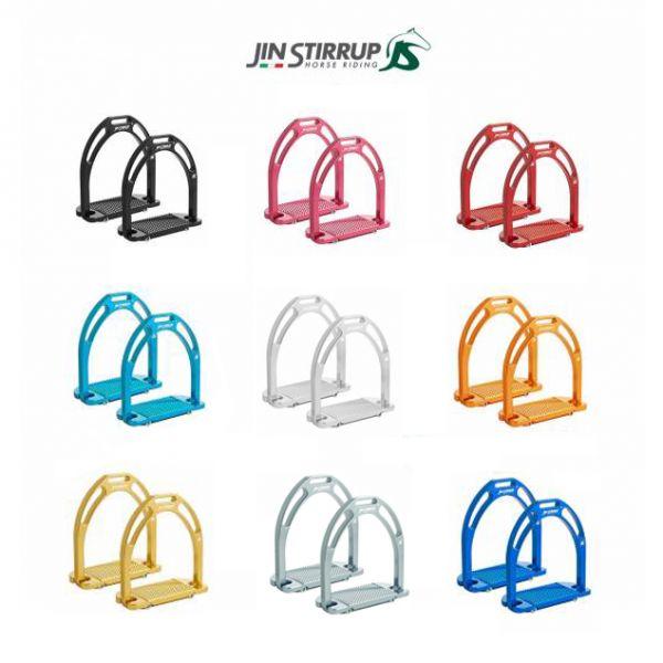 JIN STIRRUP 輕型鋁合金腳鐙 (9色可選)