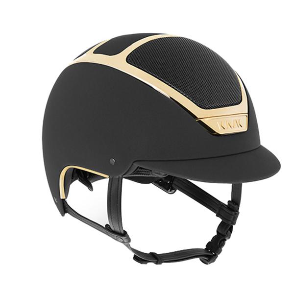 KASK 透氣安全帽 (黑色/金框/限量版/59)
