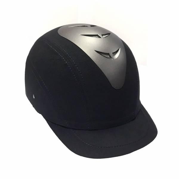 EQUITEC  透氣騎士帽 (黑色/62cm/63cm)