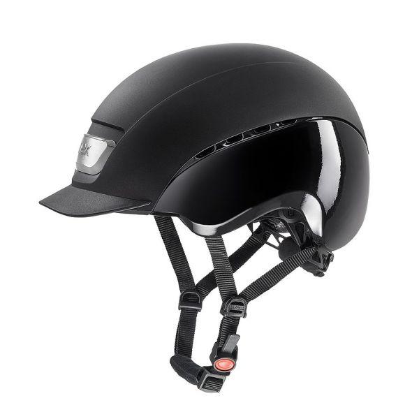 UVEX 透氣騎士帽 (黑色/S/M-L/L)