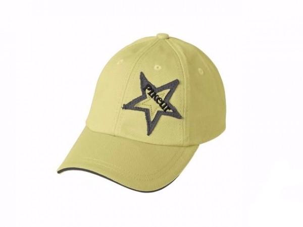 PIKEUR 棉質鴨舌帽 (亮黃色)