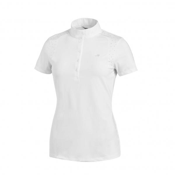 SCHOCKEMOHLE SPORTS 女用比賽衫 (白色/S/M)
