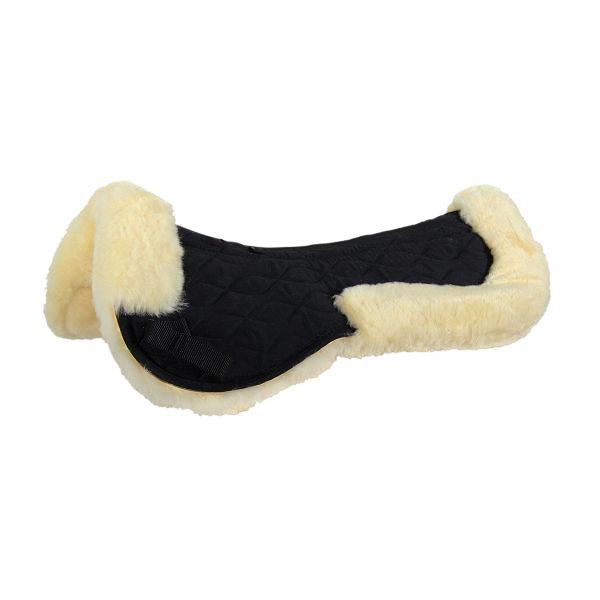 羊毛鞍墊 (黑色)