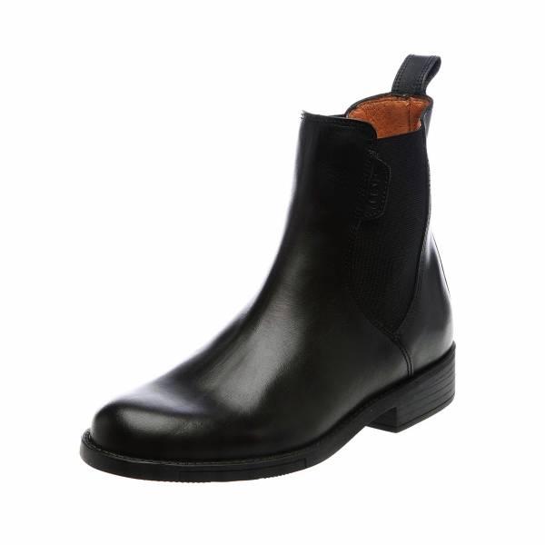 AIGLE 短筒皮靴 (鬆緊設計/黑色/35-45)