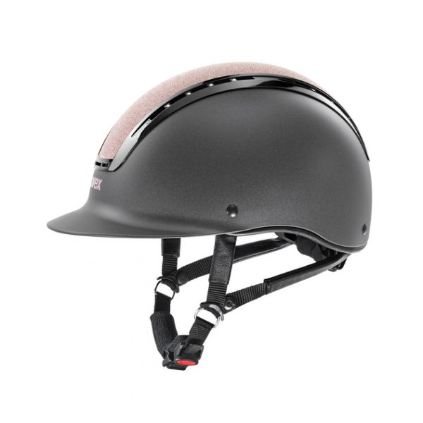 UVEX 透氣騎士帽 (星芒玫瑰頂/水鑽裝飾/L)