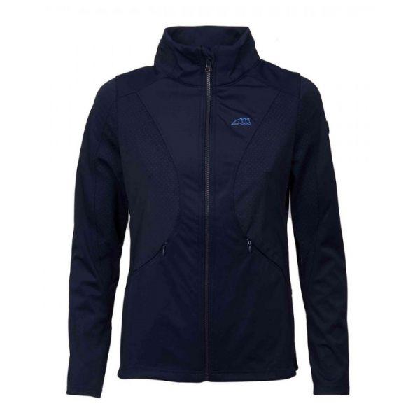 EQUILINE 女用立領夾克 (藍色/L)