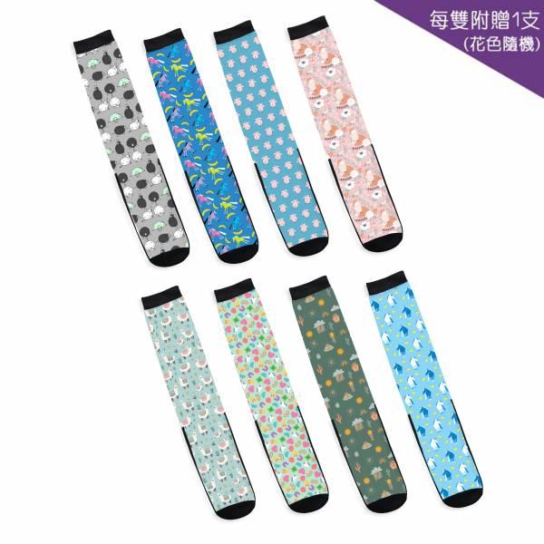 【驚喜包裝】騎馬長筒襪 (1雙加1支/8款可選)