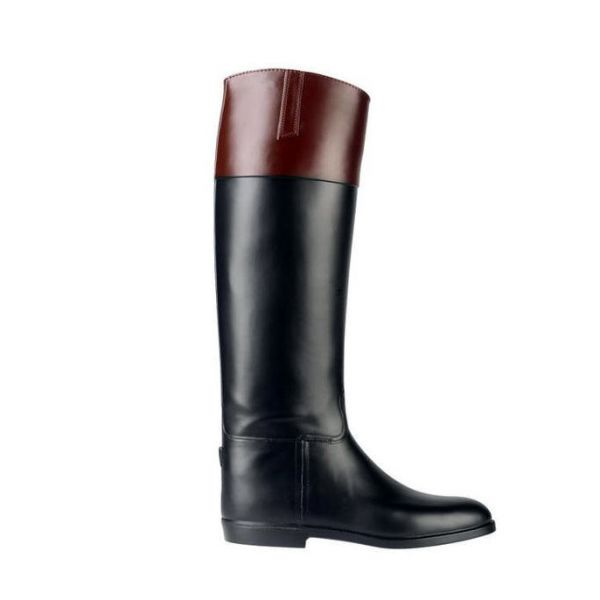 AIGLE 長膠靴 (37-44/黑棕色)