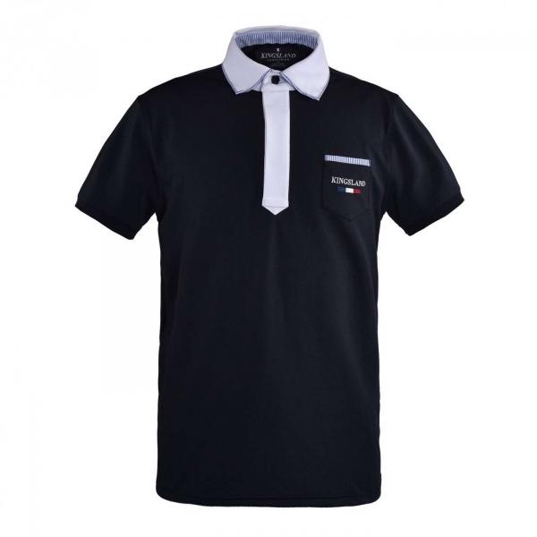 KINGSLAND 男用比賽衫 (深藍色/L)