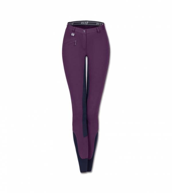 ELT 孩童馬褲 (全皮/彈性縮口/紫色)