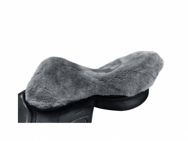 羊毛馬鞍座墊 (灰黑色)