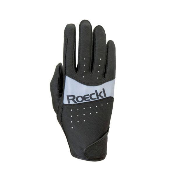 Roeckl 新款夏季騎馬手套 (止滑透氣/黑色/7.5/8)