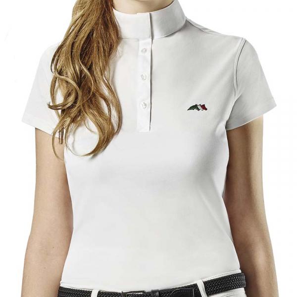 EQUILINE 女用比賽衫 (S/M/白色)