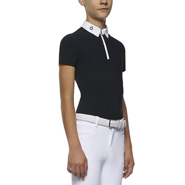 CAVALLERIA TOSCANA 男童用比賽衫 (深藍色/12/14)