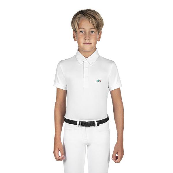 EQUILINE 童用比賽衫 (14/白色)