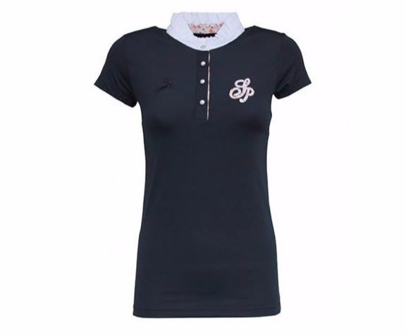 SPOOKS 女用比賽衫 (深藍色/M)