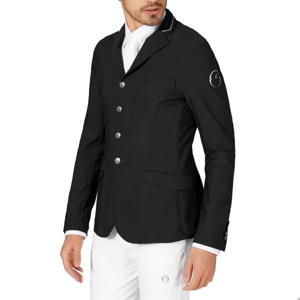 VESTRUM 男用比賽西裝外套 (黑色/EU50)