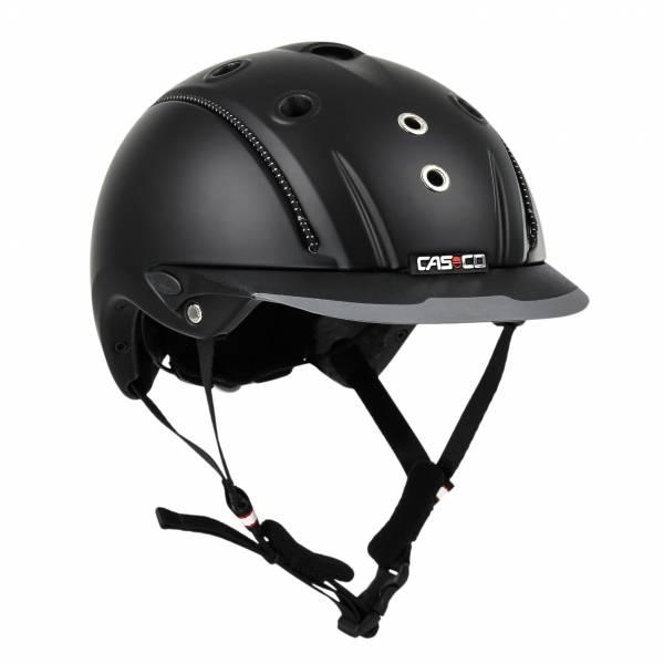 CASCO 透氣騎士帽 (黑色/50-54cm/54-58cm)