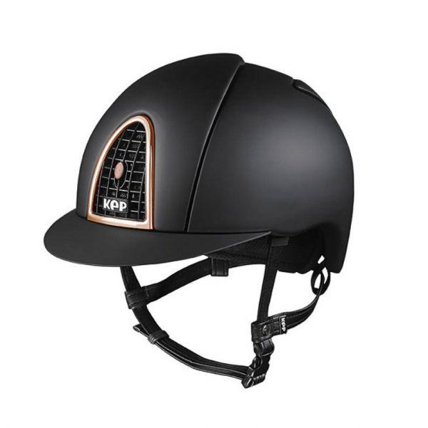 KEP 透氣騎士帽 (平光黑/玫瑰金框/M/53/54/55/56/57/58)