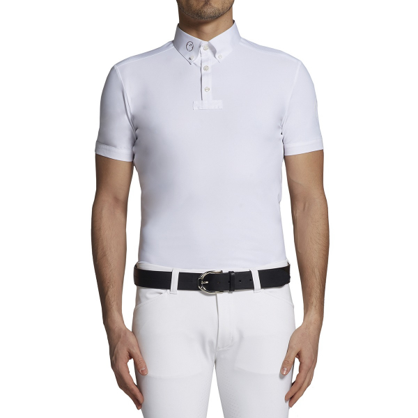 VESTRUM 男用比賽衫 (白色/M)
