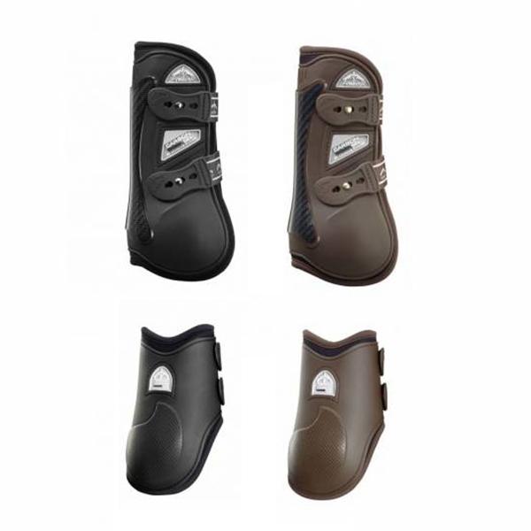 VEREDUS 碳纖維凝膠障礙護具 (前後腿/2色可選)