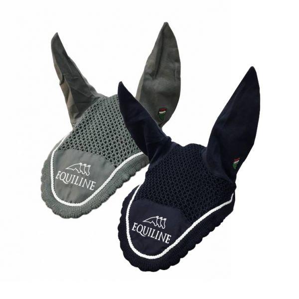 EQUILINE 馬耳罩 (勾針編織/深藍色)