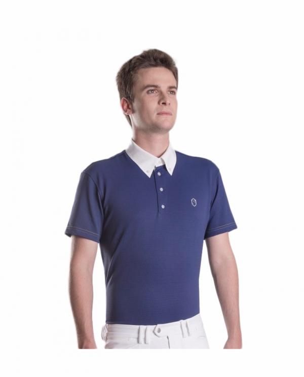 SAMSHIELD 男用比賽衫 (深藍色/M)