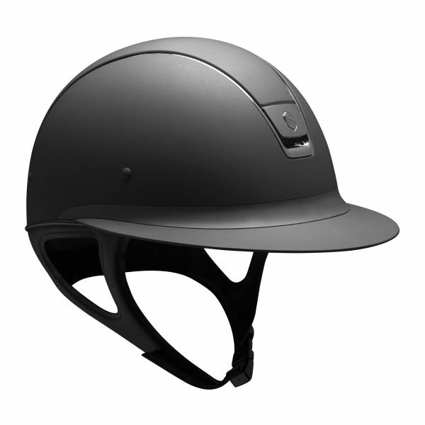 SAMSHIELD 淑女款騎士帽 (霧黑/大帽沿/M) 不含帽襯,需另外加購