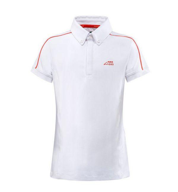 EQUILINE 童用比賽衫 (158-170/白色)